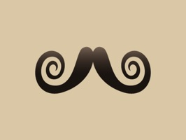 Movember Moustache Photobomb Stickers