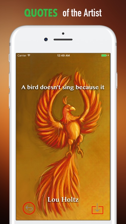 Phoenix Bird Wallpapers HD: Quotes and Pictures screenshot-3