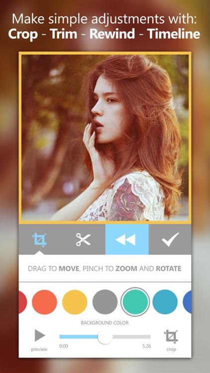 Videograph Pro: Edit Videos, Trim Crop & Cut Clips screenshot-3