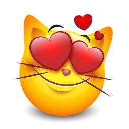 Cat Emotion Cute Sticker
