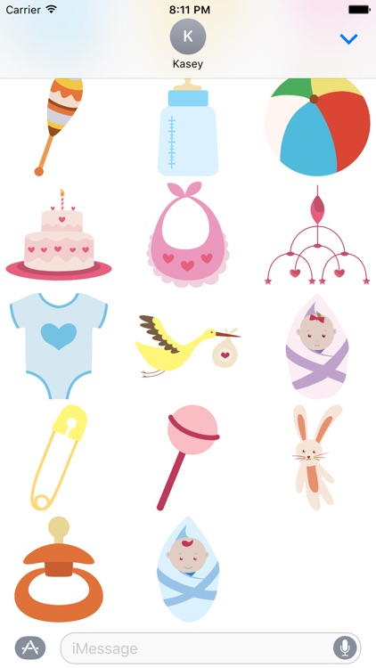 Baby Stickers Pack