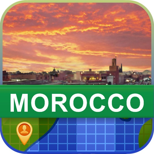 Offline Morocco Map - World Offline Maps