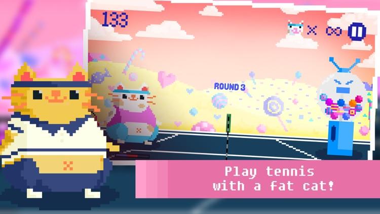 Candy Cat Tennis - Pixel Training