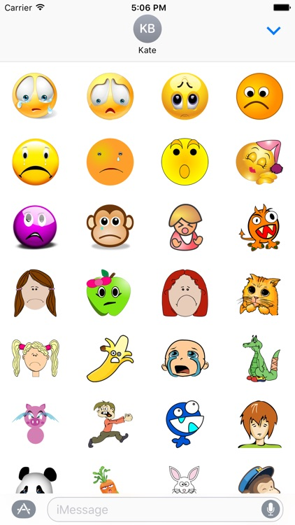 Emotional Stickers Pack For iMessage screenshot-3