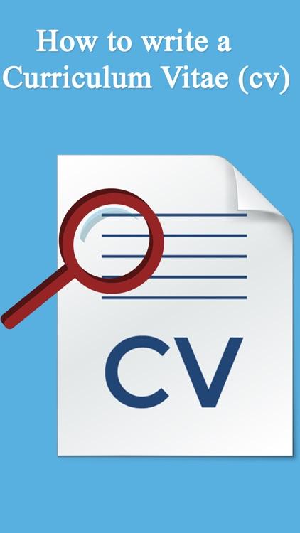 How To Create A CV - Resume Design screenshot-4