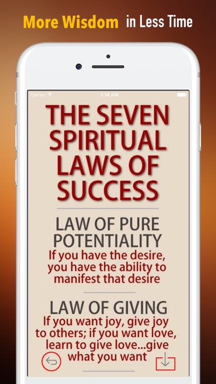 Seven Spiritual Laws of Success:Practical Guide