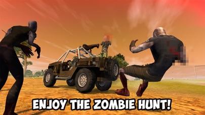 Zombie Hunting: Car Safari 3D Full screenshot one