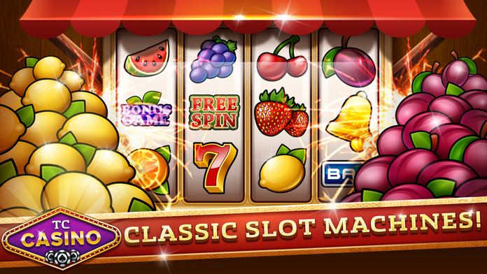 Slot Games - TC Casino Screenshot