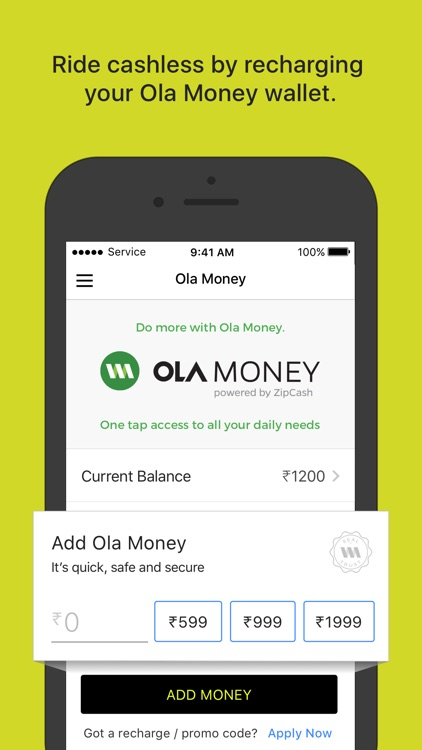 Ola cabs - Book taxi in India screenshot-4