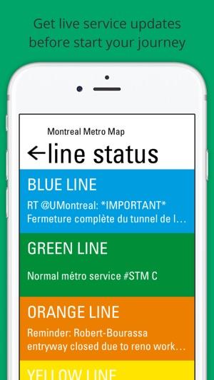Stcum Metro Map.Montreal Metro On The App Store