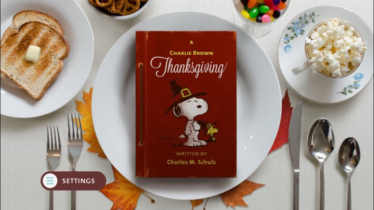 A Charlie Brown Thanksgiving - A Peanuts Interactive Classic for All Ages screenshot-0