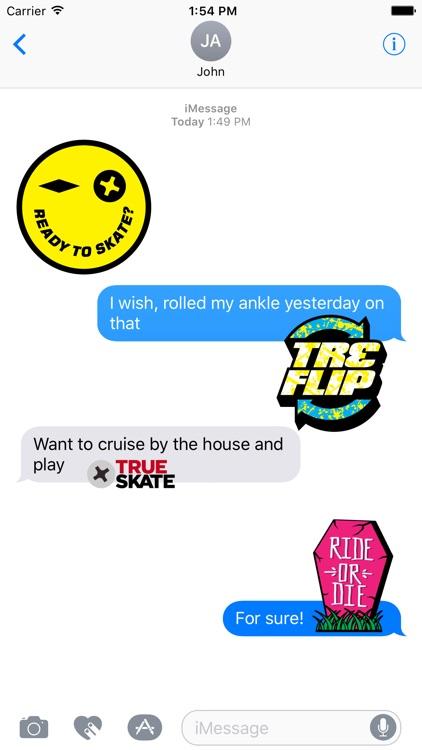 True Skate Stickers screenshot-4