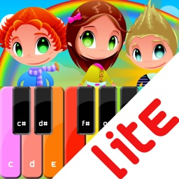 Kids Piano Lite - children songs, music sheets