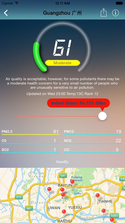 iAirQuality-global pm2.5,pm10