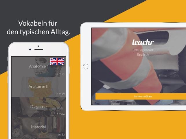 Rettungsdienst Englisch im App Store