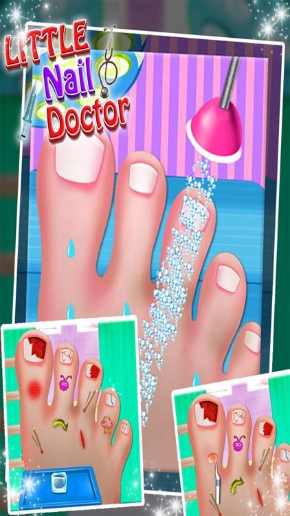 Toe Nail Doctor - Little Nail Surgery kids games screenshot-3