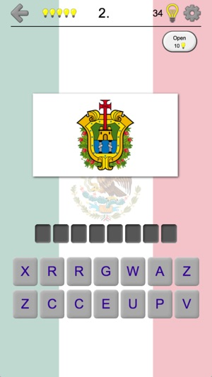 Mexican States Quiz About Mexico On The App Store