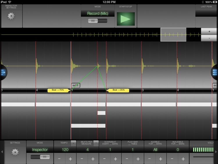 Metronomics HD Metronome screenshot-3