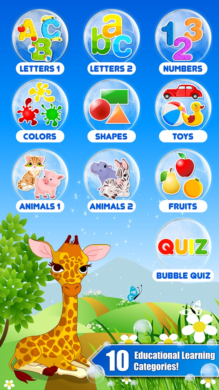 Toddler kids games - Preschool learning games free Screenshot