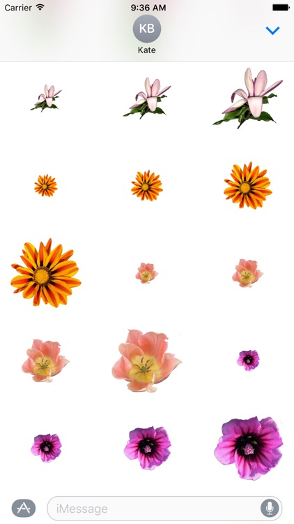 Flower Stickers 花貼紙 screenshot-3
