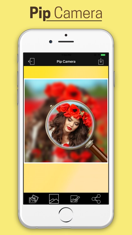 Pip Photo Effect With Blur Background screenshot-2