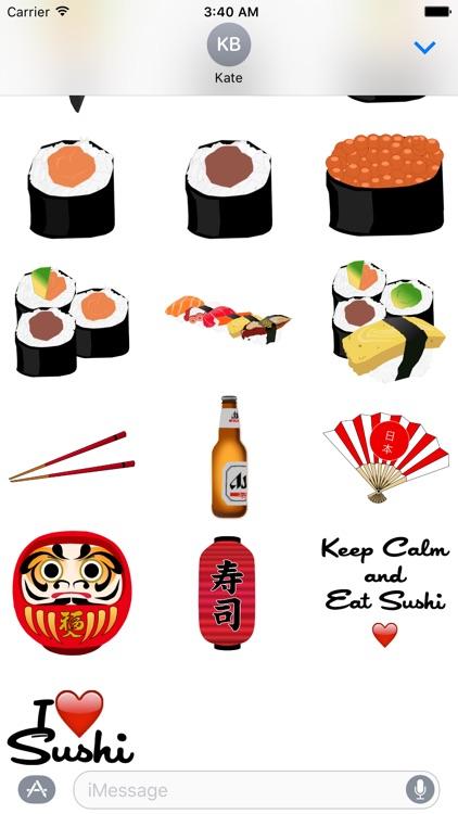 Sushi Love Sticker Pack