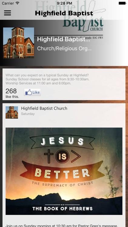 Highfield Baptist Church