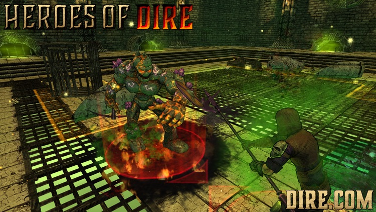 Heroes of Dire screenshot-3