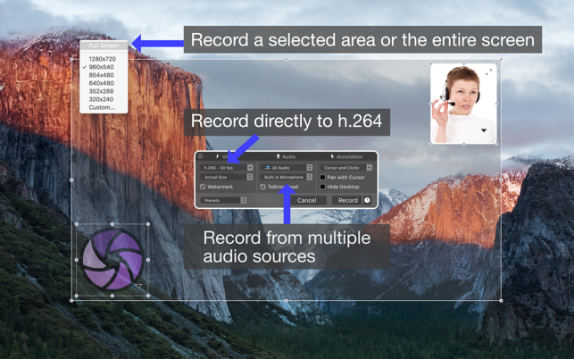 ‎Iris: Screen Recorder Screenshot