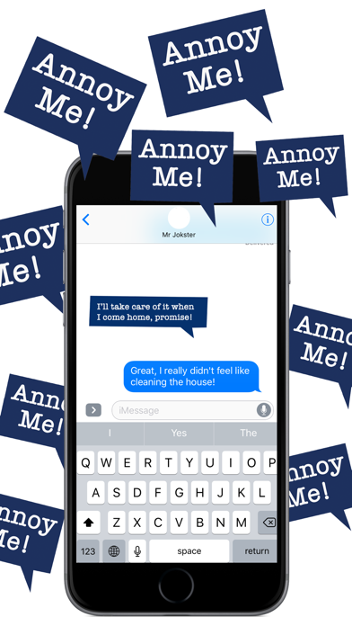 Annoy Me! - Annoying but Fun Stickers Pack screenshot two