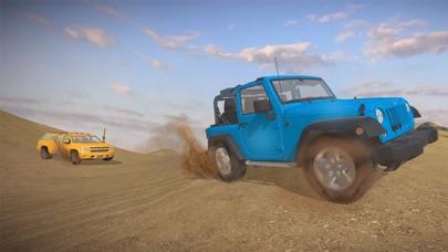 4 × 4 越野吉普车沙漠野生动物园-驾驶 3D sim 卡 App 截图