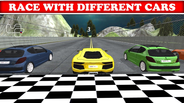 3D Fun Racing Game - Awesome Race-Car Driving FREE screenshot-3