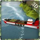 Armée simulateur de navire cargo - bateau à voile icon