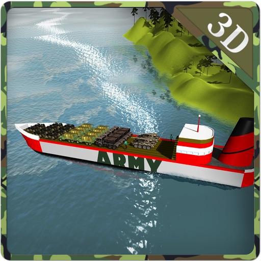 Army Cargo Ship Simulator – Boat sailing game