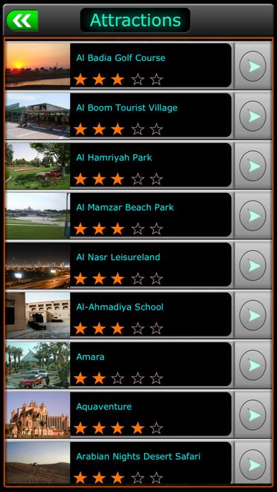 Screenshot for Dubai Offline Map Travel Guide in Azerbaijan App Store