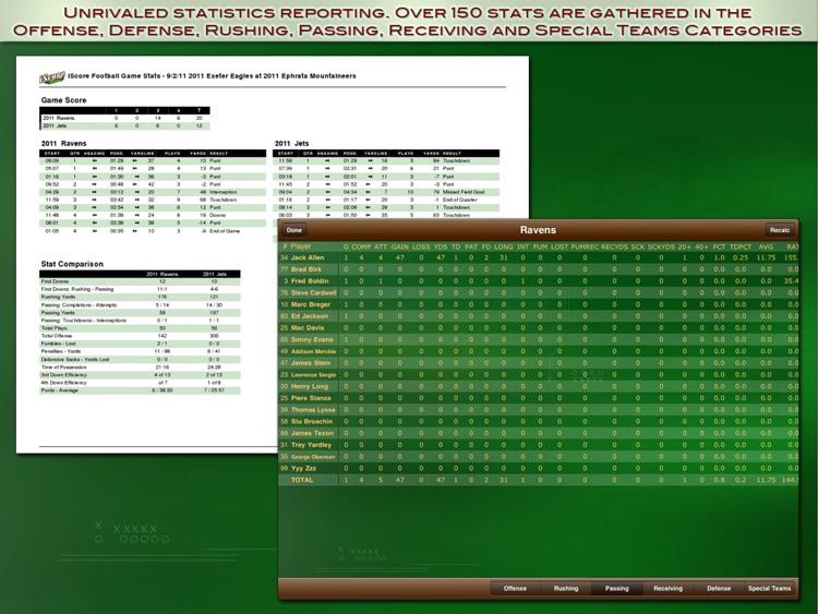 iScore Football Scorekeeper screenshot-4