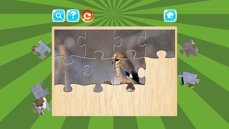 Birds Jigsaw Puzzles For Kids screenshot-3