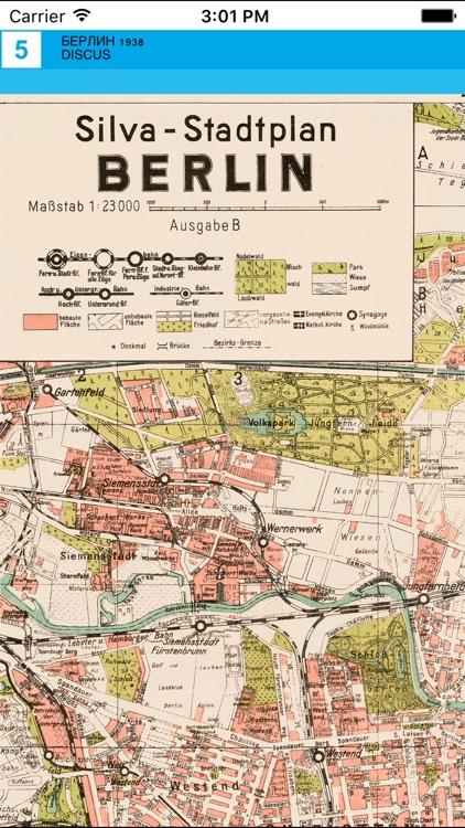 Berlin 1938. Historical map. screenshot-4