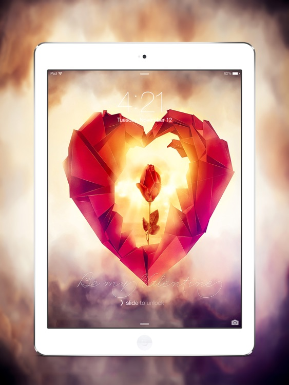 Happy Valentine Day 2017 HD Wallpapers for iPad screenshot-3