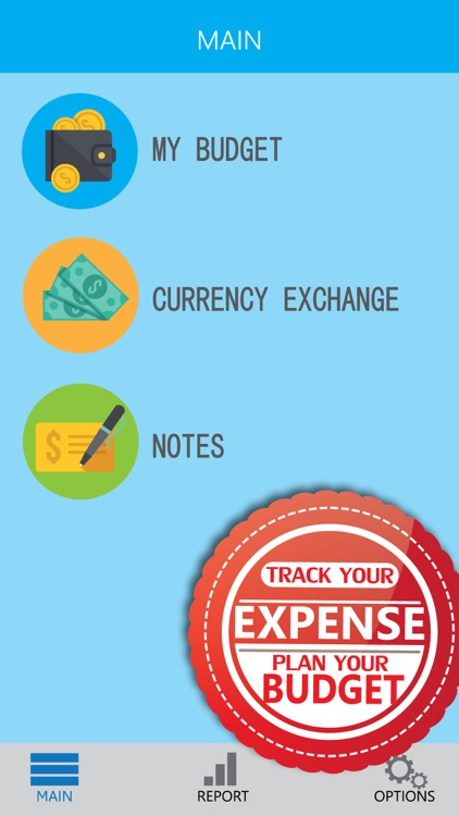 Money Tracker - A weekly budget planner