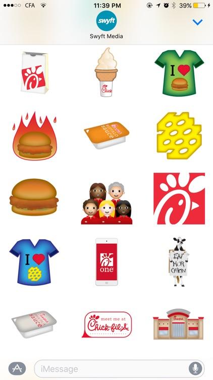 Chick-fil-A Stickers screenshot-4