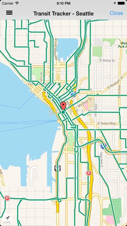 Transit Tracker - Seattle (King County)