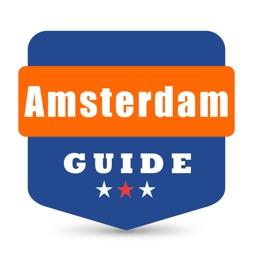 阿姆斯特丹自由行地图 阿姆斯特丹离线地图 阿姆斯特丹地铁公交火车 欧洲荷兰阿姆斯特丹旅游指南 Amsterdam guide