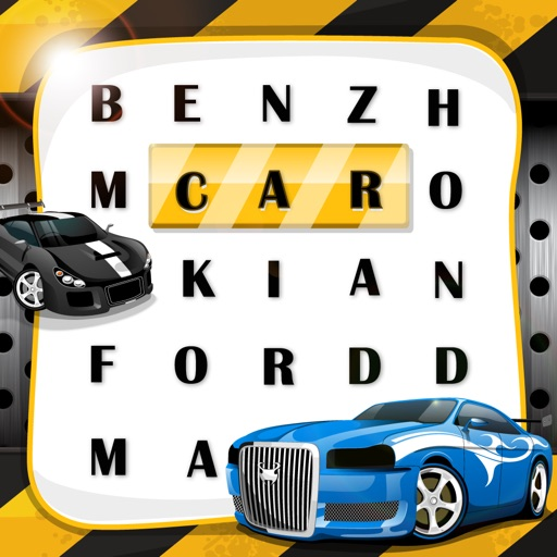 Word Search Auto Motive The Real Cars Super Fast by