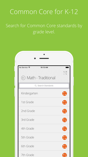 Common Core Standards On The App Store