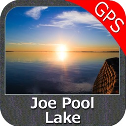 Joe Pool Lake Texas GPS fishing chart offline