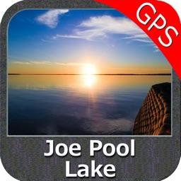 Joe Pool Lake Texas GPS fishing chart offline