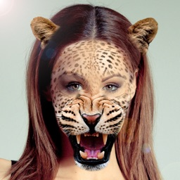 Animal Face Selfie Editor Snap Stickers Photo App