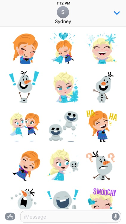 Disney Stickers: Frozen