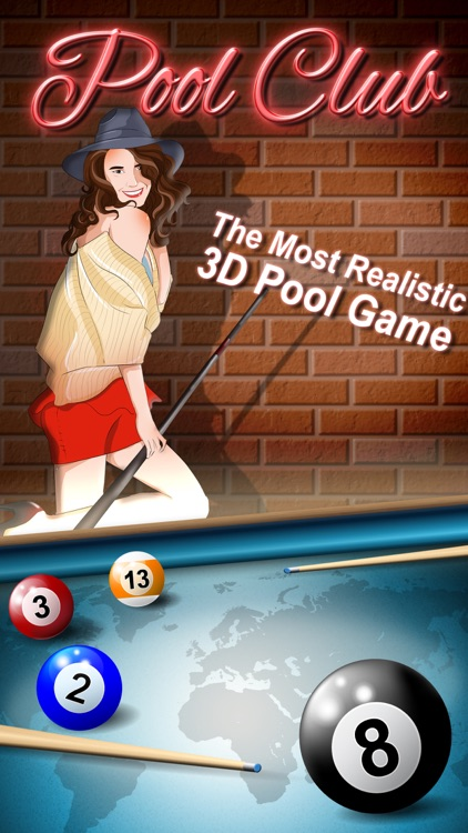Pool Club 3D - 8 Ball, 9 Ball, 3 Cushion Billiards